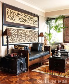 Africa Moto: Textile Love: Decorate with Kuba Cloth