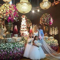 Casamento de famosos em 2016: Confira as decorações