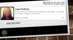 Pinterest Black List - The First 100