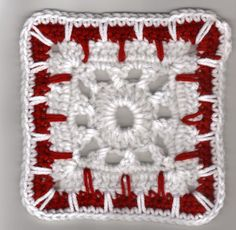 Kaleidoscope Afghan Square Crochet Pattern  Note there are video's on U-tube for this sqr...