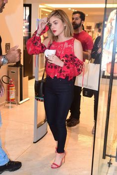 Lucy Hale – Shopping in Sao Paulo, Brazil : Global Celebrtities (F) FunFunky.com