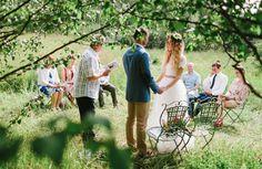 an Australian wedding in Finland