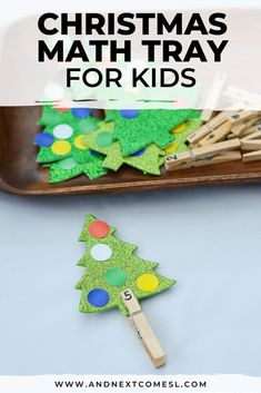 Christmas Math Tray Counting Activity for Preschool or Kindergarten Looking for. Christmas Math Tray Counting Activity for Preschool or Kindergarten Looking for…