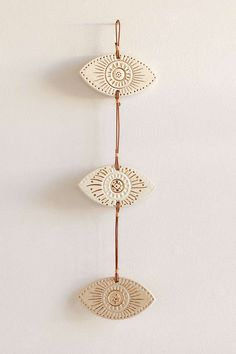 Hanging Ceramic Eye Decor - Urban Outfitters