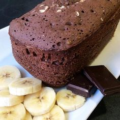 BIZCOCHO de choco-banana AL MICROONDAS - lorenaonfit