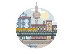 Berlin: Animation by Fabricio Rosa Marques