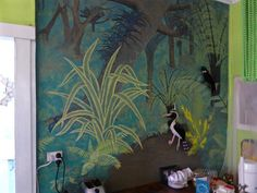 Acrylic paint trick of the eye effect makes any room seem bigger. Murals painted to order, any size. Painting Tips, Murals, Nativity, Eye, Illustration, Room, Bedroom, Wall Paintings, The Nativity