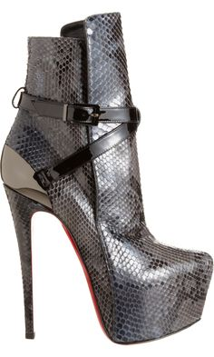 louboutin equestria - amazing boots from an amazing collection #shoeporn