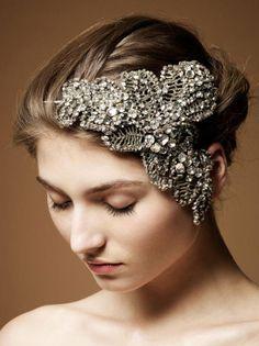 Vintage Bridal Accessories Wed Accesory1 Inspired Wedding Hair Headdress