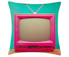 CAPA DE ALMOFADA TV - 45X45CM