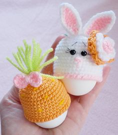 For Christians Easter Sunday is the high point of the year. They celebrate the Resurrection of Jesus Christ. Easter eggs are given to children as presents or are hidden for the Easter morning egg hunt. Its handmade crochet cozy eggs, eggs warmer! An excellent accessory to boiled eggs on your breakfast table, Easter!!! Eggs want to look like bunny this year! Easter is coming shop and those little bunny hats will bring fun to your Easter table. - All handmade by, those eggs cozy are…