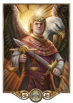 Praios - Gott der Hierarchie, des Adels und des Rechts
