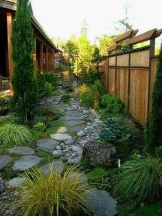 Steal these cheap and easy landscaping ideas​ for a beautiful backyard. Get our best landscaping ideas for your backyard and front yard, including landscaping design, garden ideas, flowers, and garden design. Small Backyard Landscaping, Landscaping Ideas, Walkway Ideas, Backyard Privacy, Rock Walkway, Path Ideas, Backyard Walkway, Backyard Designs, Landscaping Software