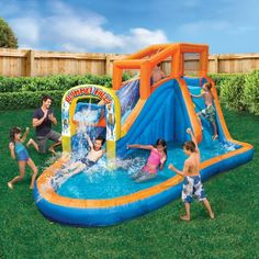 23b19103d228 10 Best Inflatable Water Slides images