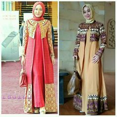 Modest Fashion Hijab, Abaya Fashion, Women's Fashion Dresses, Model Dress Batik, Batik Dress, Batik Muslim, Fashion Desinger, Moslem Fashion, Ankara Short Gown Styles