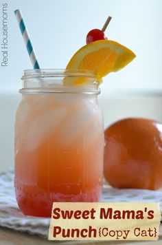 Sweet Mama's Punch {Copy Cat} | Real Housemoms | Just like the one from Famous Dave's!!!