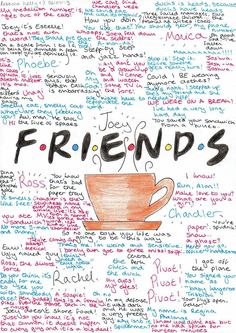 R.N.D.S Quotes and Memories by becksbeck on deviantART # dad advice funny hilarious F.R.N.D.S Quotes and Memories by becksbeck on DeviantArt Friends Tv Show, Tv: Friends, Serie Friends, Friends Moments, I Love My Friends, Friends Forever, Friends Episodes, Friends Tv Quotes, Pivot Friends