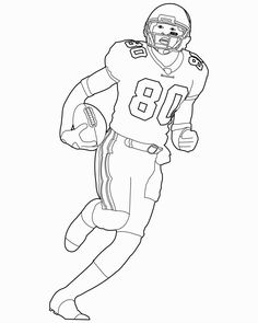 football coloring pages nfl