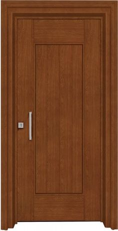 This door style for downstairs bathroom to match existing sytle Modern Wooden Doors, Wooden Main Door Design, Front Door Design, Modern Door, Pooja Room Door Design, Door Design Interior, Flush Door Design, Wood Entry Doors, Downstairs Bathroom