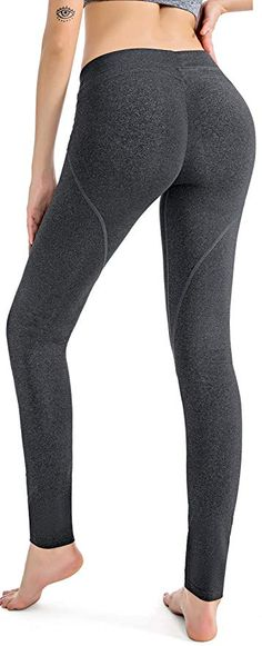 54aab3dbdbb427 RUNNING GIRL Butt Lift Leggings Scrunch Butt Push Up Leggings Yoga Pants  for Women Workout Tights