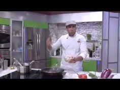 Chef Edgardo Noel: Bacalao guisado con berenjena