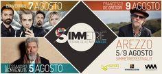 "https://flic.kr/p/udDg9w | Simmetrie Festival | Simmetrie Festival, ad Arezzo dal 5 al 9 agosto 2015. 5 agosto: Benvenuti 7 agosto: Bluvertigo 9 agosto: De Gregori <a href=""http://www.simmetriefestival.it"" rel=""nofollow"">www.simmetriefestival.it</a>"