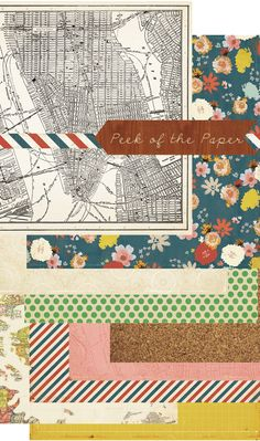 adorable line of scrap booking paper (via @Tina Fussell)