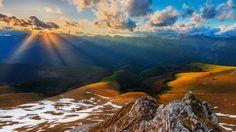 Valcan Mountains (from Retezat-Godeanu Mountains Group), Romania (by Zsolt Kiss) Mountain Hiking, My Land, Romania, Trekking, Mountains, Water, Travel, Outdoor, Kiss