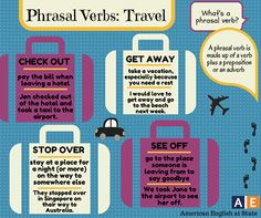 prhasal verbs travel