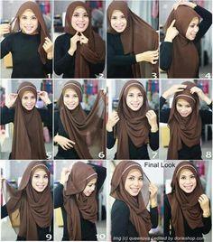 love this tutorial..so simple n syariah