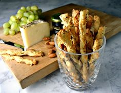 Bake a batch of Skinny Parmesan Twists to accompany a fruit and cheese board or your favorite cheese dip!