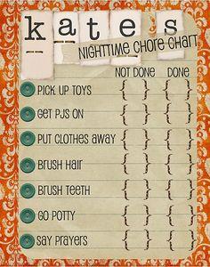 Chore Chart | How Do It