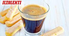 Kahvi on olennainen osa tiramisua. Pretzel Bites, Tiramisu, Cake Recipes, Recipies, Pudding, Bread, Baking, Drinks, Tableware