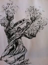 Image result for harry potter whomping willow