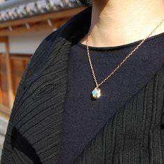 #opal #labradorite #necklace by #cristinazazo