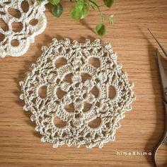 NoteTiTi Crochetcolor No. 262/0号かぎ針(2.00mm) 約10㎝patternmemo作り目はわから編む方法で細編み6目。前の段の鎖編みに編むところは束で拾って編みます。