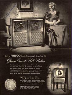 Philco Radio-Phonograph