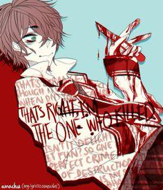 Bloody anime boy insane Guro Shuuen no Shiori C-ta