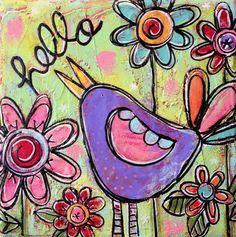 Hello Little Birdy! by Gina McKinnis