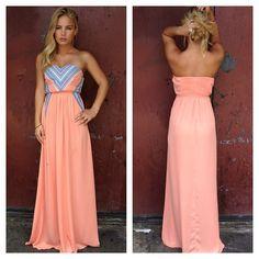 maxi dress.