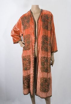 Babani metallic embroidered velvet coat, 1920s, from the Vintage Textile archives.