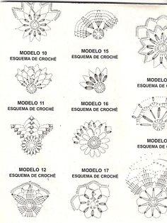 Crochet ideas that you'll love Crochet Snowflake Pattern, Crochet Motifs, Crochet Snowflakes, Crochet Doilies, Crochet Flowers, Crochet Stitches, Crochet Christmas Ornaments, Christmas Crochet Patterns, Christmas Snowflakes