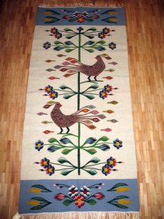 Wool rug from Oltenia Wool Carpet, Rugs On Carpet, Brancusi Sculpture, Folk Embroidery, Jute Rug, Natural Rug, Traditional Rugs, Turkish Kilim Rugs, Rug Hooking