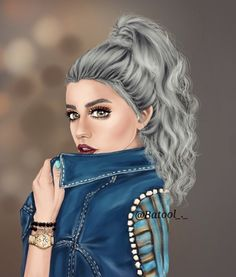 Imagen de art, drawing, and illustrations Girly M, Really Cool Drawings, Beautiful Drawings, Image Girly, Tumblr Gril, Photo Girly, Image Swag, Sarra Art, Chica Cool