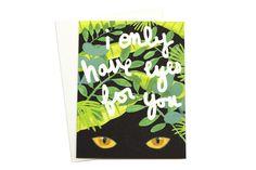 Eyes for You Card | Moorea Seal