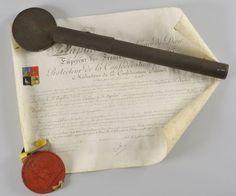 Lettres patentes du général Baron Callier de saint Apolin
