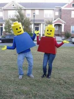 How to make Lego people Halloween costumes | Recycled Crafts | CraftGossip.com