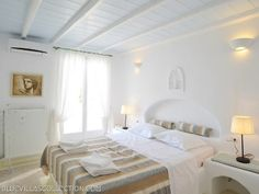 Check out this awesome listing on Airbnb: Villa Thalia - Villas for Rent in… Mykonos Villas, Perfect Place, Condo, Vacation, Thalia, Luxury, Bedroom Ideas, House, Furniture