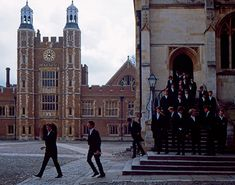 Eton College School Yard and chapel, 2009