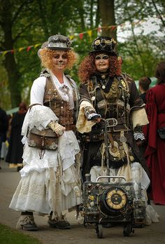 Steampunk is a sub-genre of science fiction that typically features steam-powered machinery, especially in a setting inspired by industrialized Western… Steampunk Circus, Steampunk Heart, Steampunk Couture, Steampunk Goggles, Steampunk Design, Steampunk Accessories, Steampunk Clothing, Steampunk Fashion, Steampunk Outfits
